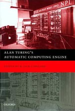 Alan Turing's Automatic Computing Engine Book Cover